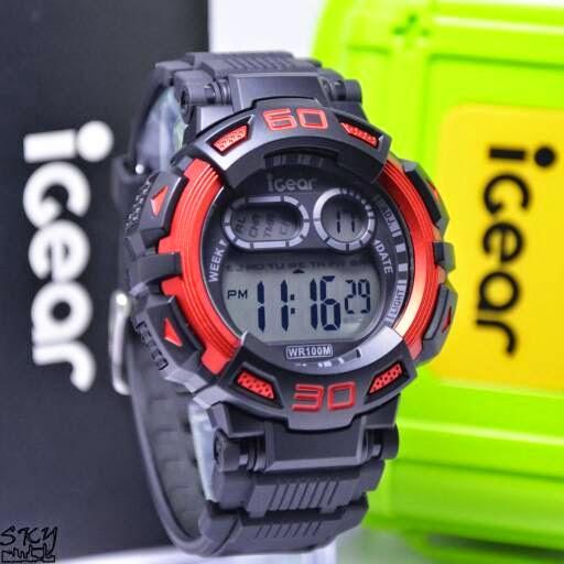 I Gear I08 Original Hitam Merah