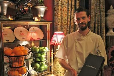 Chef John McMahon en Escocia. Blog Esteban Capdevila
