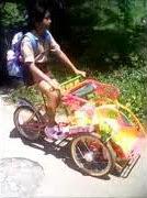 Becak Mini Favorit Anak