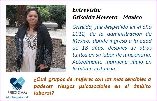 MobbingMadrid Griselda Herrera