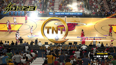 nba 2k13 tnt hd watermark overlay patch nba2k org. Black Bedroom Furniture Sets. Home Design Ideas