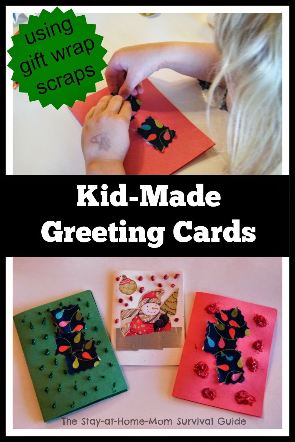 Homemade Wrapping Paper Wrapping Paper Scraps