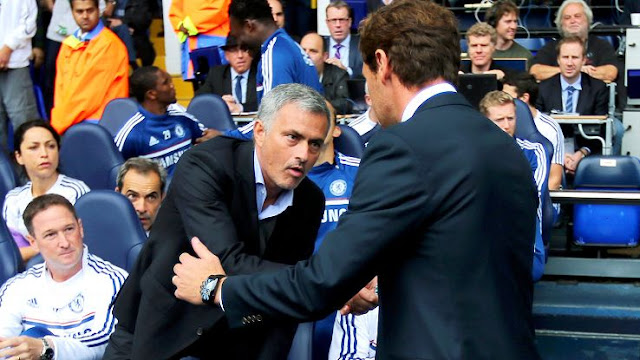 Andre Villas-Boas was part of Jose Mourinho's coaching team at Porto, Chelsea and Inter Milan but the pair later fell out.