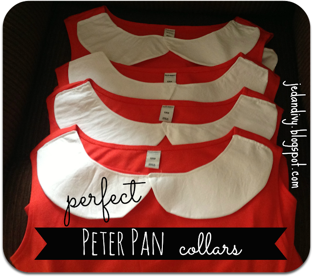 peter pan collar white