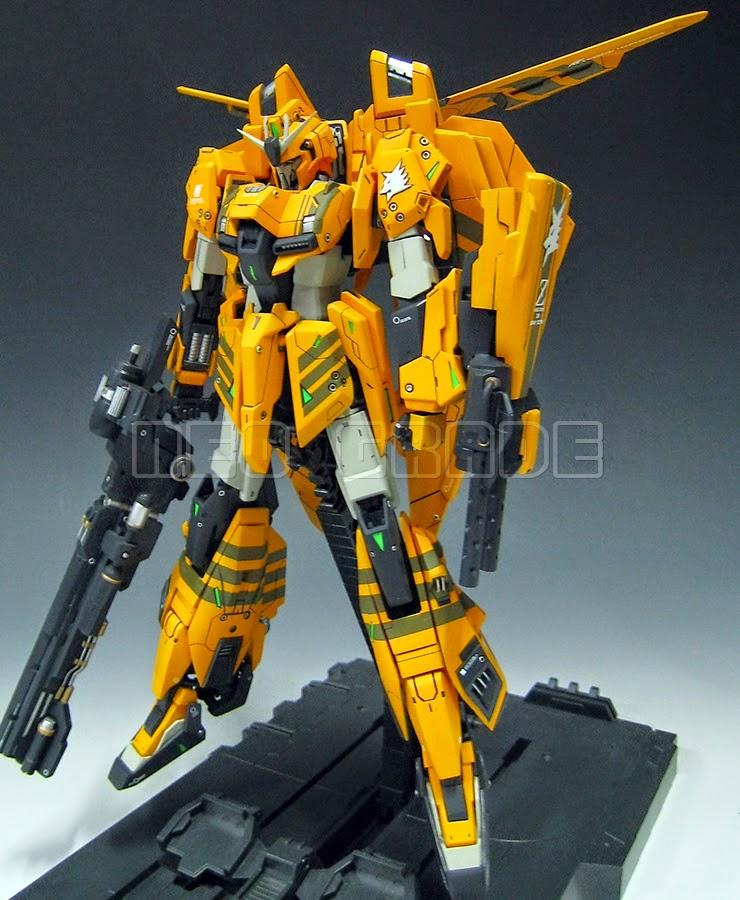 Gundam Family: NG 1/100 Gray Wolf's Zeta Gundam Custom Build