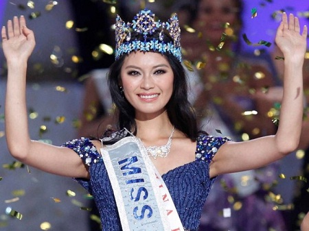 Meet Yu Wenxia, Miss World 2012