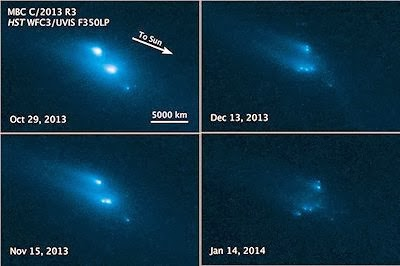 Hubble Witnesses Asteroid's Mysterious Disintegration | VIDEO