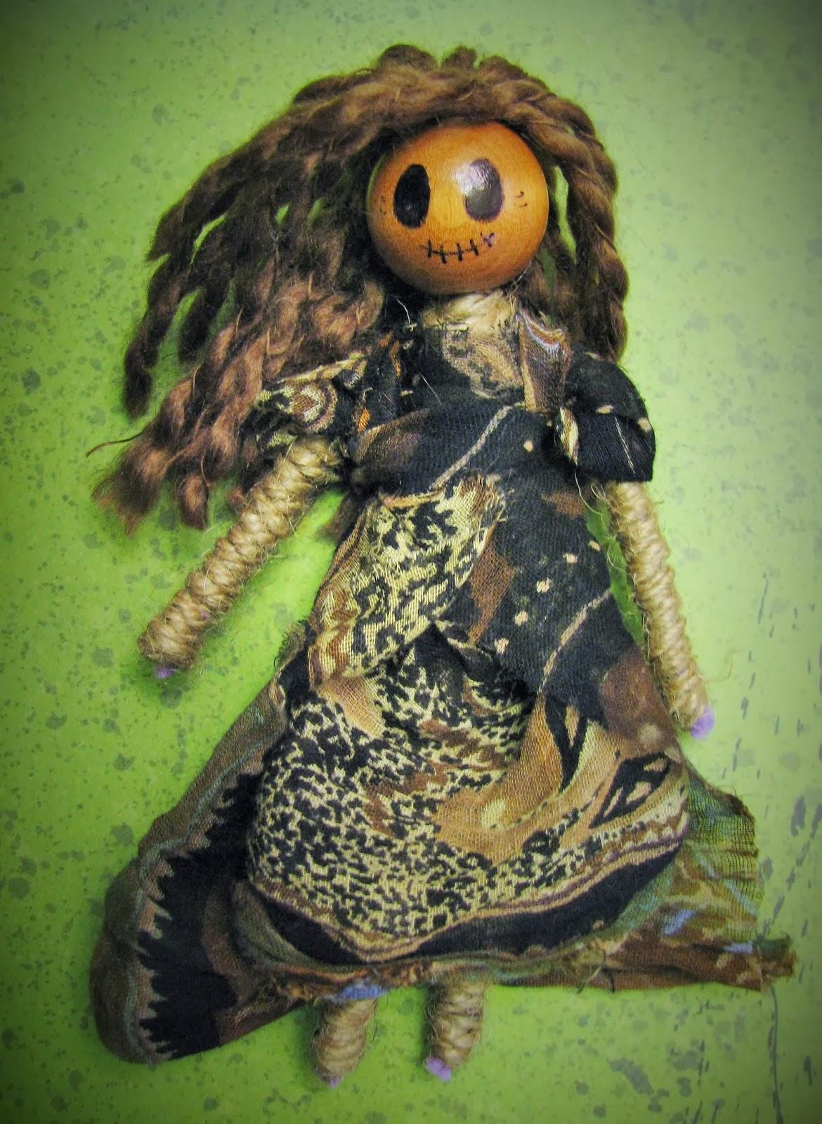 yarn voodoo doll instructions