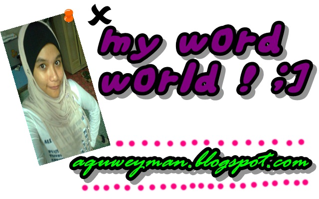 My Word World :]