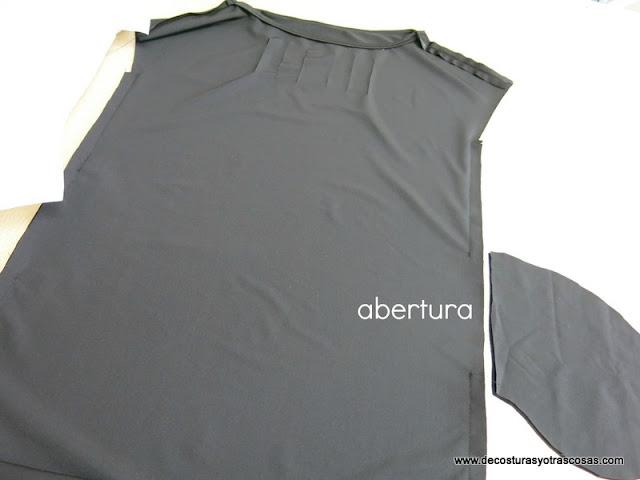 como coser un vestido de punto elástico