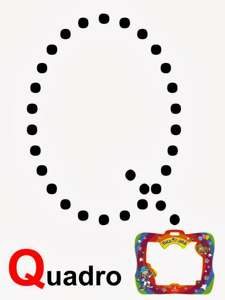 alfabeto quadro