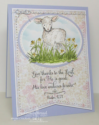 ODBD The Shepherd, ODBD Custom Little Lamb Die, ODBD Easter Card Collection 2016, ODBD Custom Stitched Ovals Dies, ODBD Custom Ovals Dies, Card Designer Angie Crockett