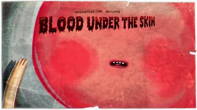Sangue sob a pele