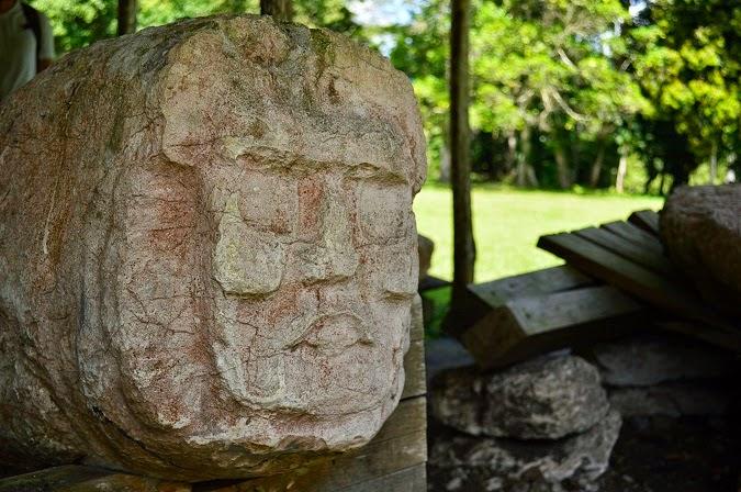 Mayan ruins in Caracol