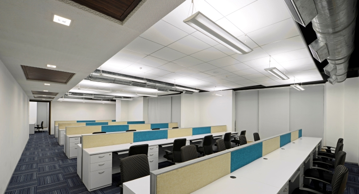 L t finance holdings ltd corporate office interiors for Home office design ltd