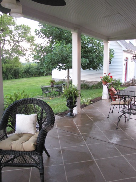 How Paint Concrete Porch Floor Ehow Apps Directories