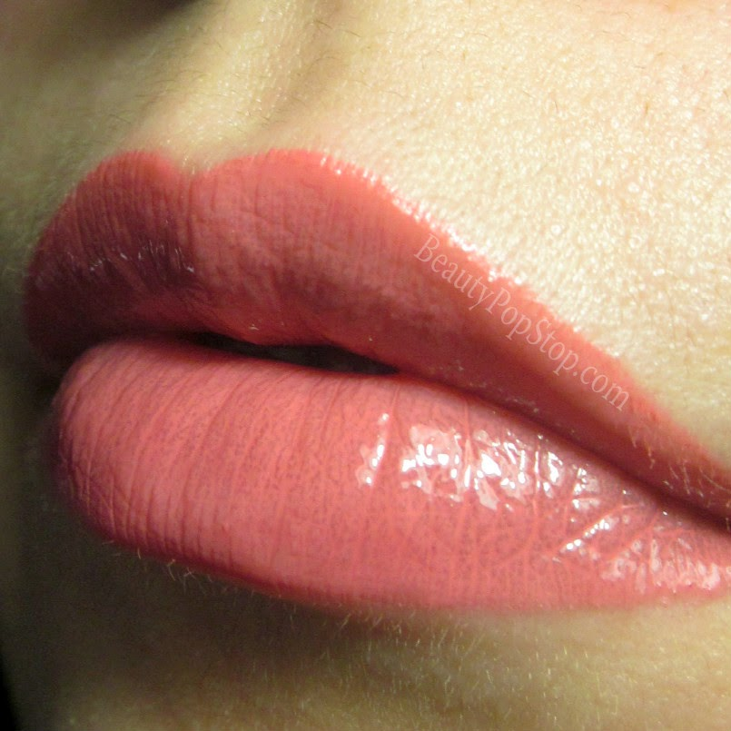 mac hoop lipglass over hoop lipstick review and swatch