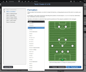 Football Manager 2014 Tactic Creator
