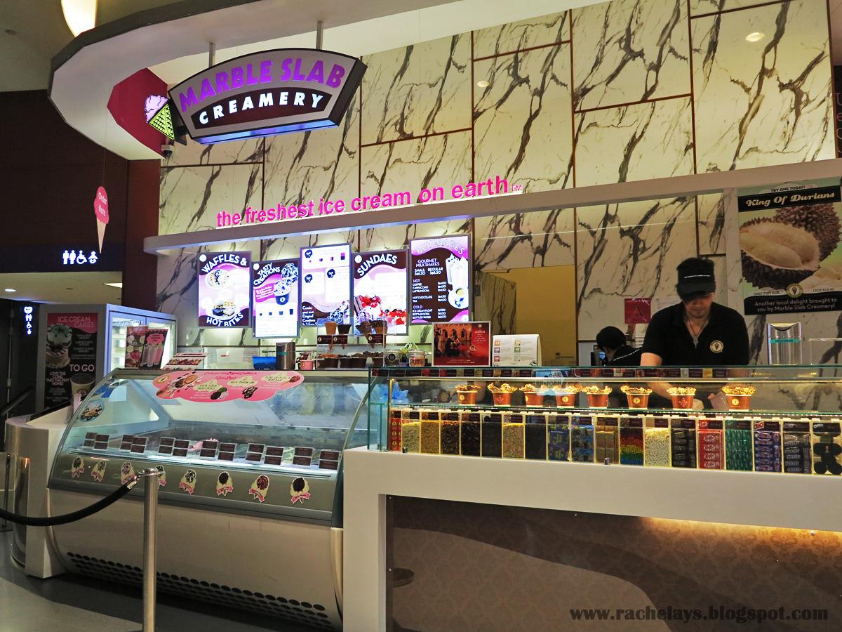 RACHELAYS: Bugis+ Food Trail: Marble Slab Creamery ...