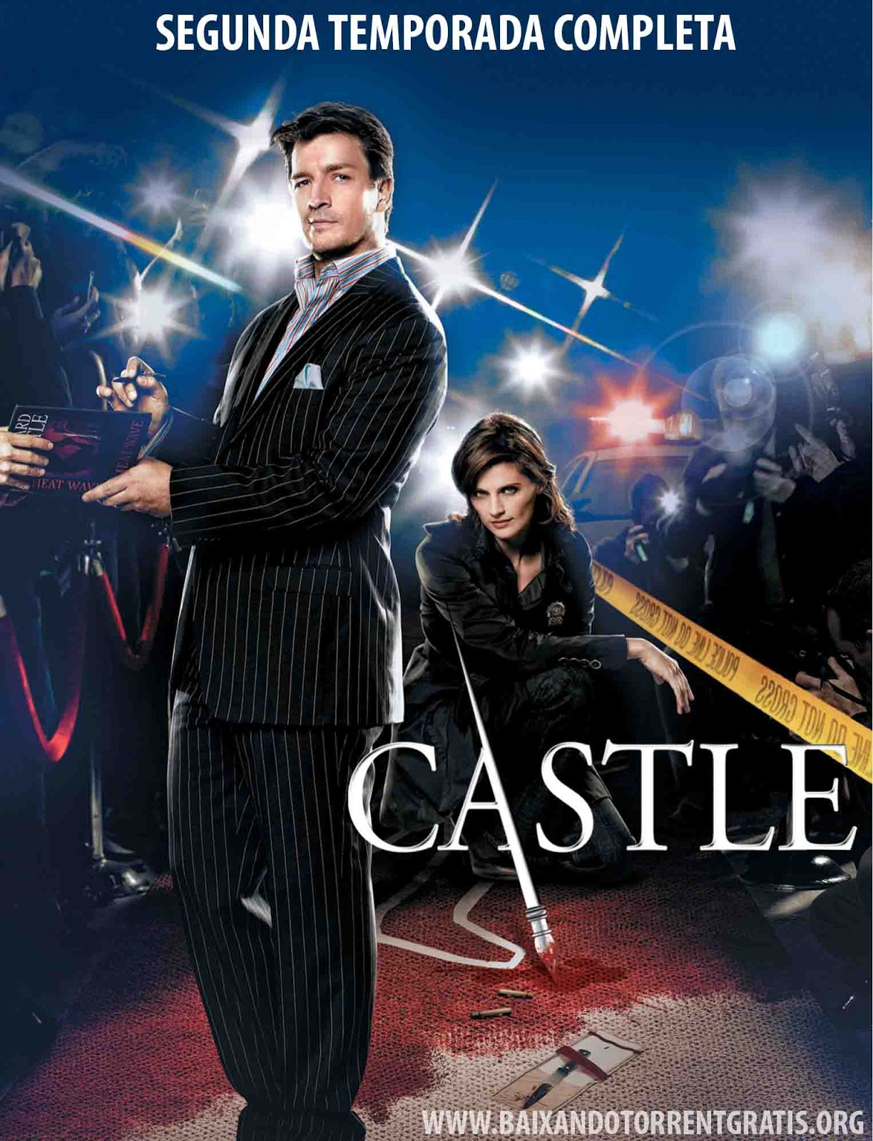 Castle 2ª Temporada Torrent - BluRay 720p Dublado