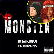 eminem ft rihanna the monster lyrics