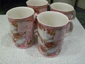 Rose Mug Set