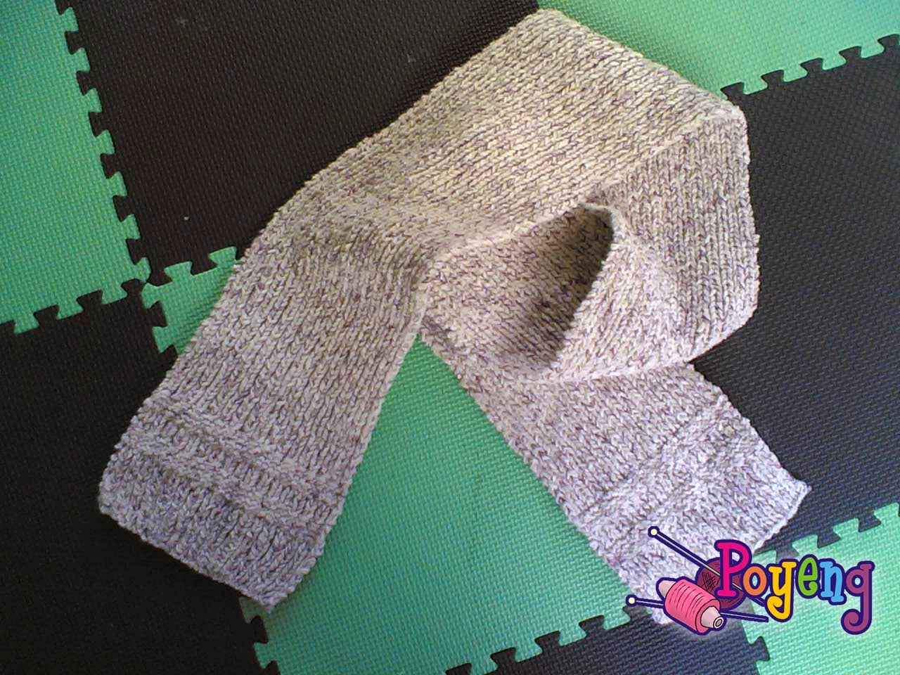 Ajeng belajar merajut rajut free knitting pattern simple scarf this is my first knitting project finished this very simple scarf in one month soooo newbie p bankloansurffo Gallery
