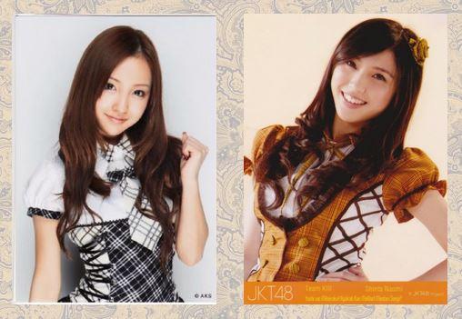 Tomomi Itano (AKB48) % Shinta Naomi (JKT48)