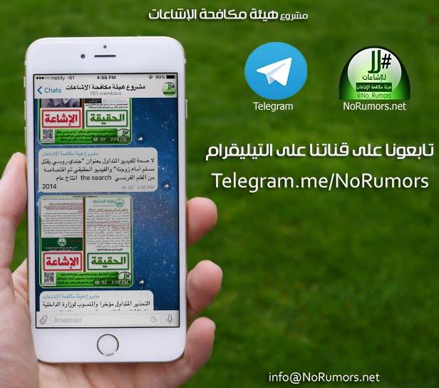 قناة التليقرام