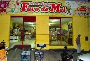 DOCES E FESTAS FAVO DE MEL