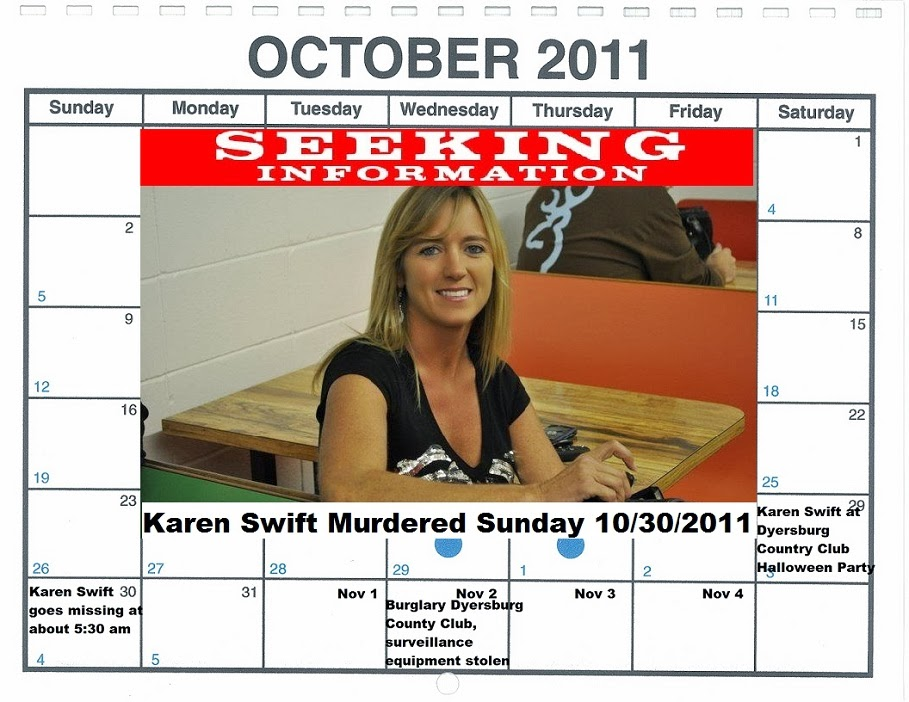 SARASOTA PRIVATE INVESTIGATOR BILL WARNER TAKE ON UNSOLVED MURDER OF KAREN SWIFT IN DYERSBURG