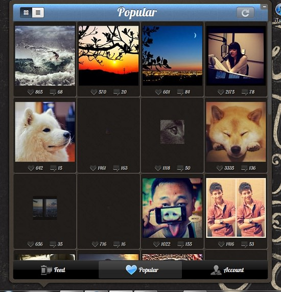 Instagrille For Pc