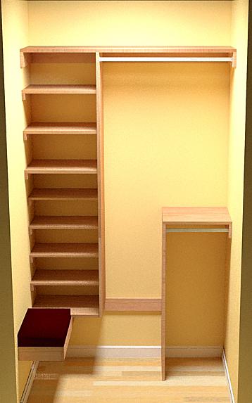 coat closet revisited. Black Bedroom Furniture Sets. Home Design Ideas