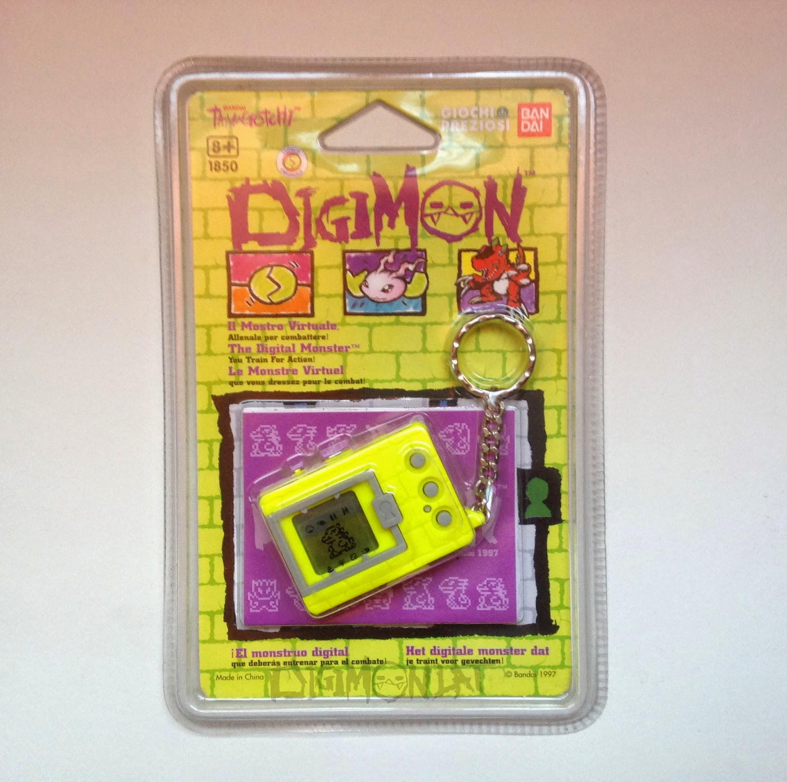 Digimon Digivice 1997 Digimon Tamagotchi 1997