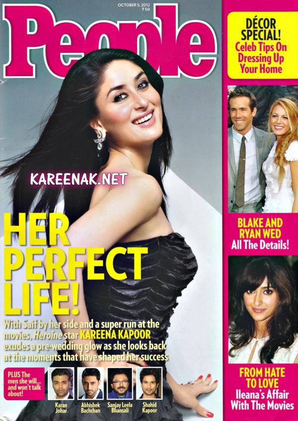 Kareena Kapoor People Magazine Octuber 2012