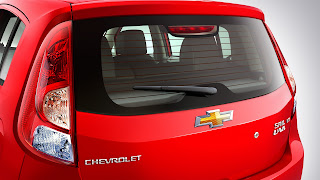 chevrolet sail u-va rear view