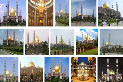 Indahnya Masjid Dian Al-Mahri