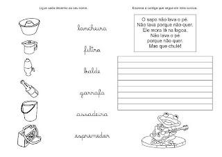 Caligrafia para imprimir e caderno de caligrafia - Atividade Caligrafia - 6