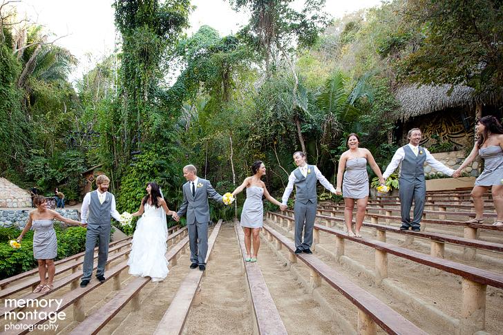 Las Caletas Puerto Vallarta Photographer Mexico Destination wedding photo family bridal party picture