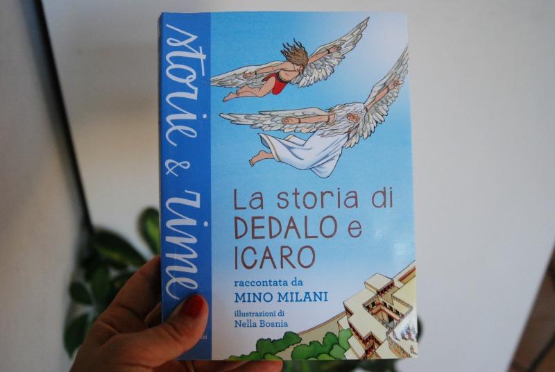 la storia di dedalo e icaro libro vacanze bambini