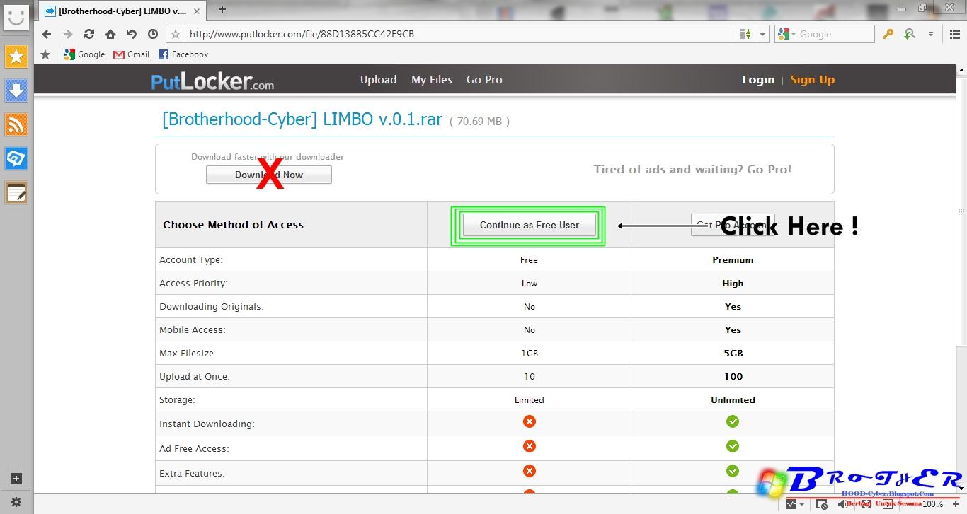 Cara Download Di PutLocker.com