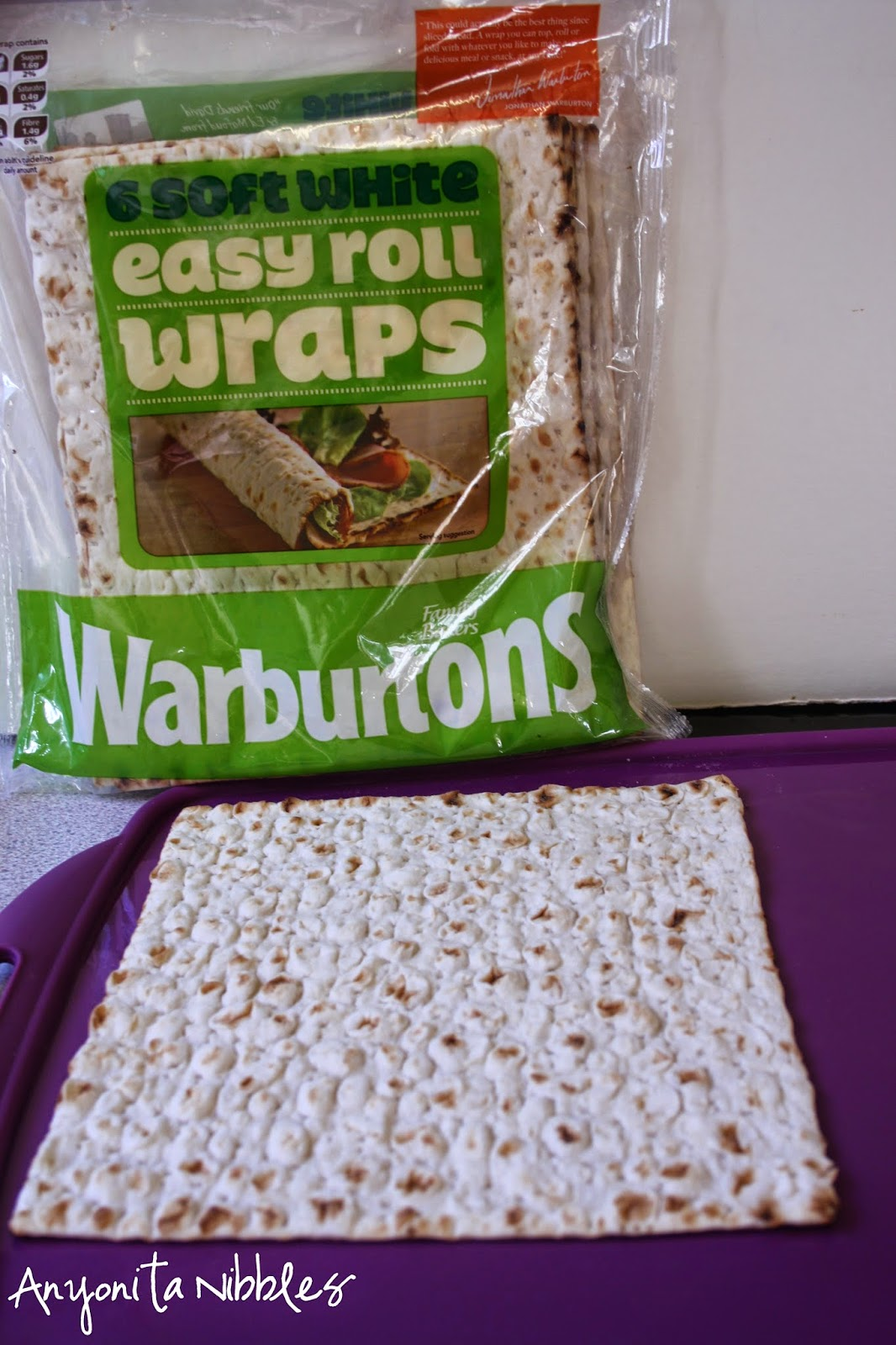 These easy roll wraps from Warburtons make rolling a cinch. From Anyonita Nibbles
