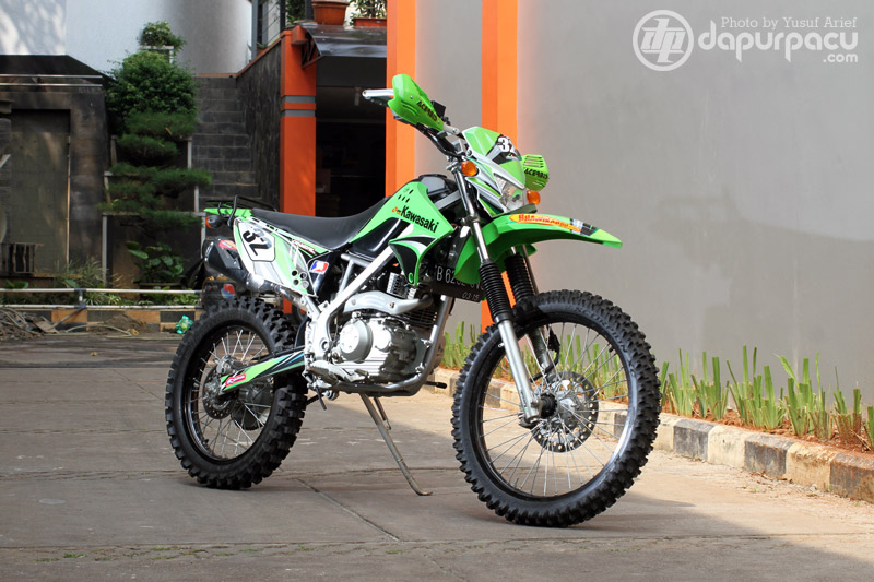 Kawasaki KLX 150 Adventure Modification title=