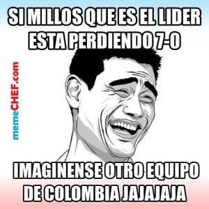 El fútbol colombiano también fue goleado en España