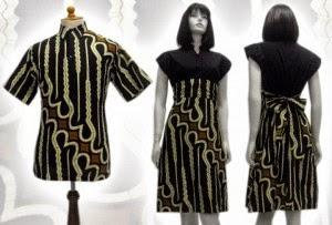 Foto Baju Batik Dress Solo
