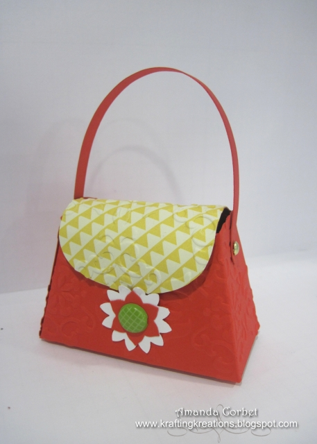 Calypso Coral Petite Purse