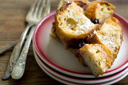 Grilled French Toast With Sausages And Blueberries Recipes ...