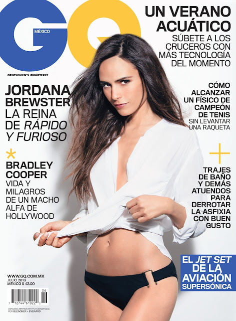 Jordna Brewster GQ 2013 Magazine Mexico July issue