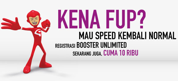 BOOSTER Unlimited SmartFren, Anti Kuota FUP