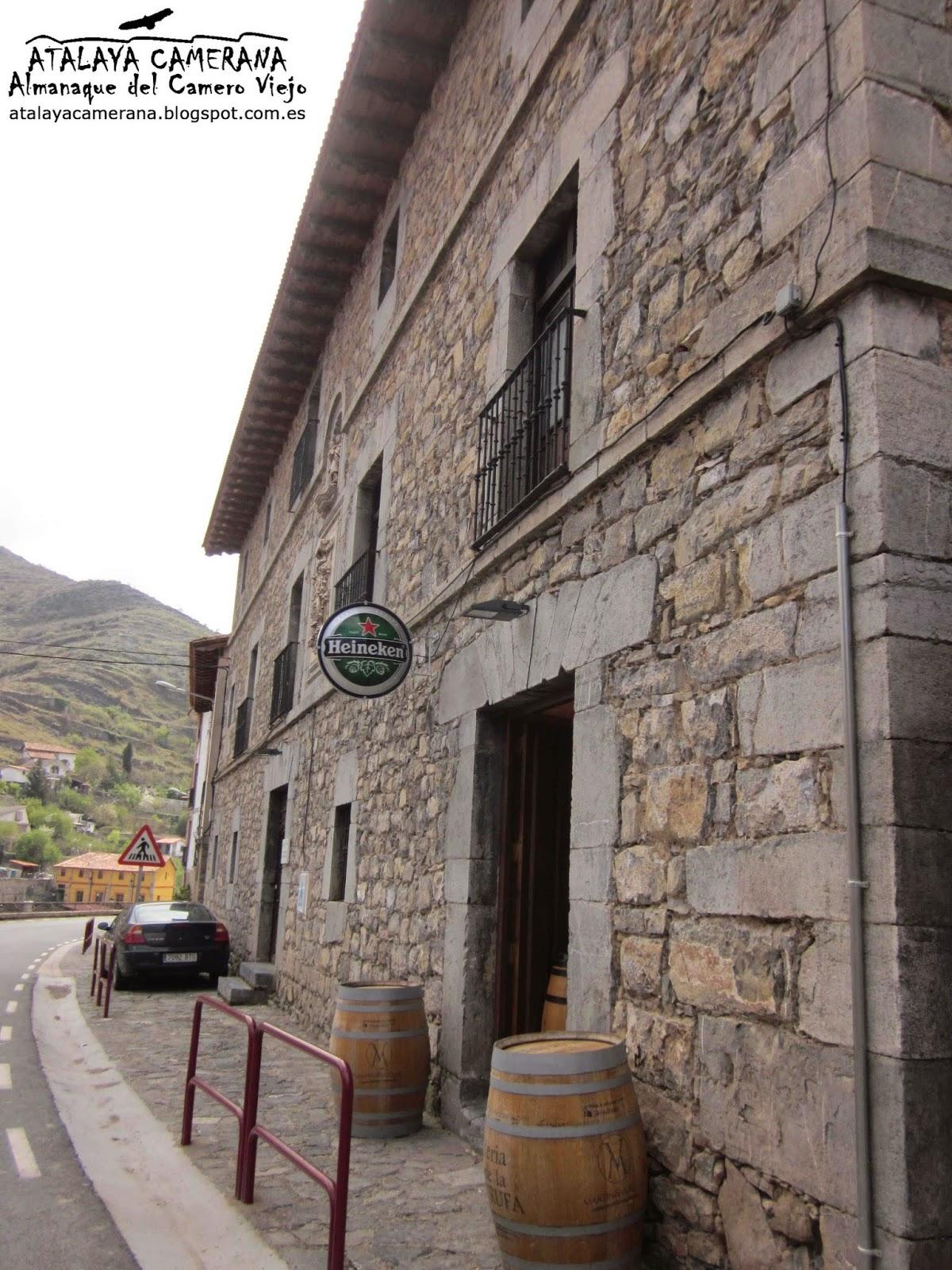 """Albergue-Restaurante """"Cañón del Leza"""", Hospital San José, Soto en Cameros"""